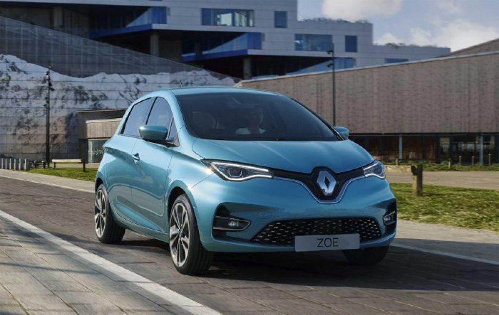 Voiture électrique Zoé Renault