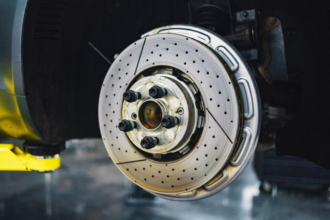 Plaquette de freins roue avant